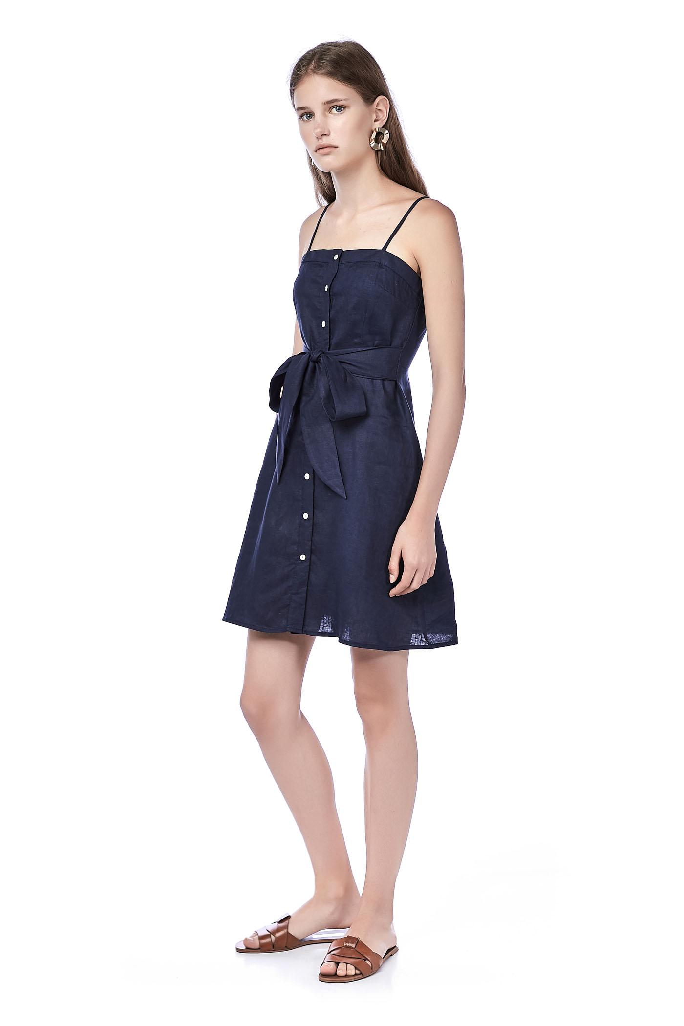 Yaiza Button-through Dress