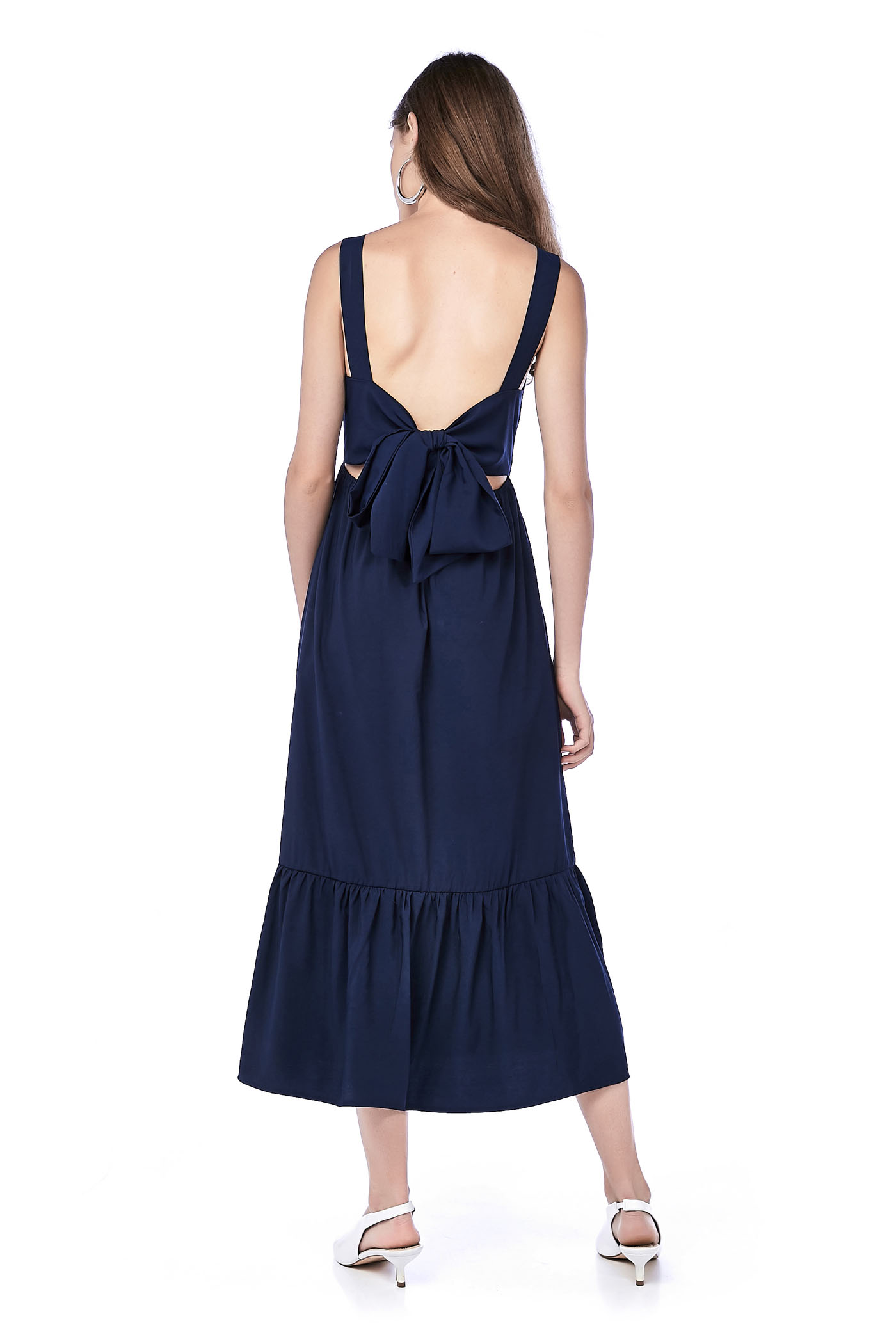 Zaria Back-Tie Maxi Dress