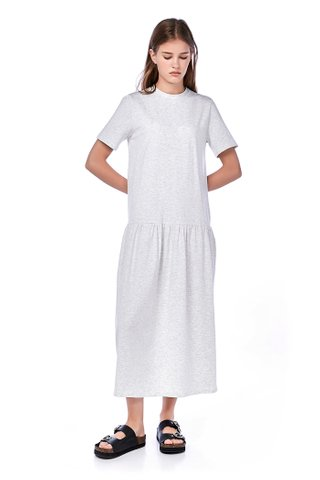 Alza Drop-Waist Maxi Dress