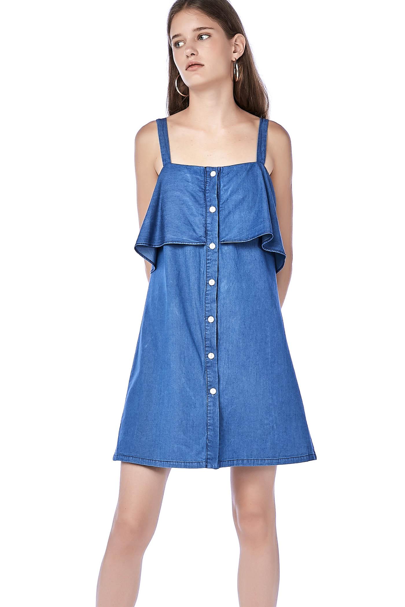Filya Layered Mini Dress