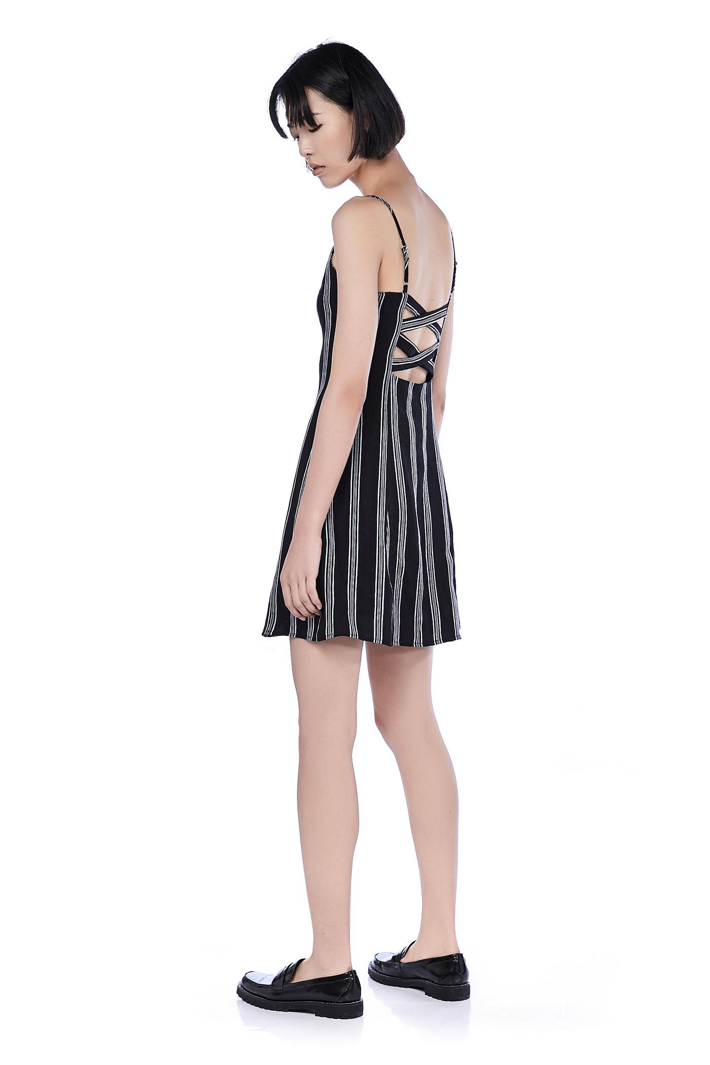 Lauren Cross-Back Dress