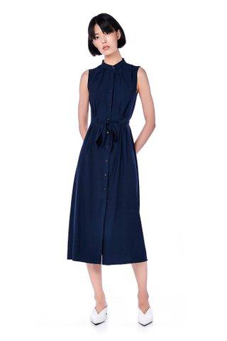 Lani Button-Through Maxi Dress