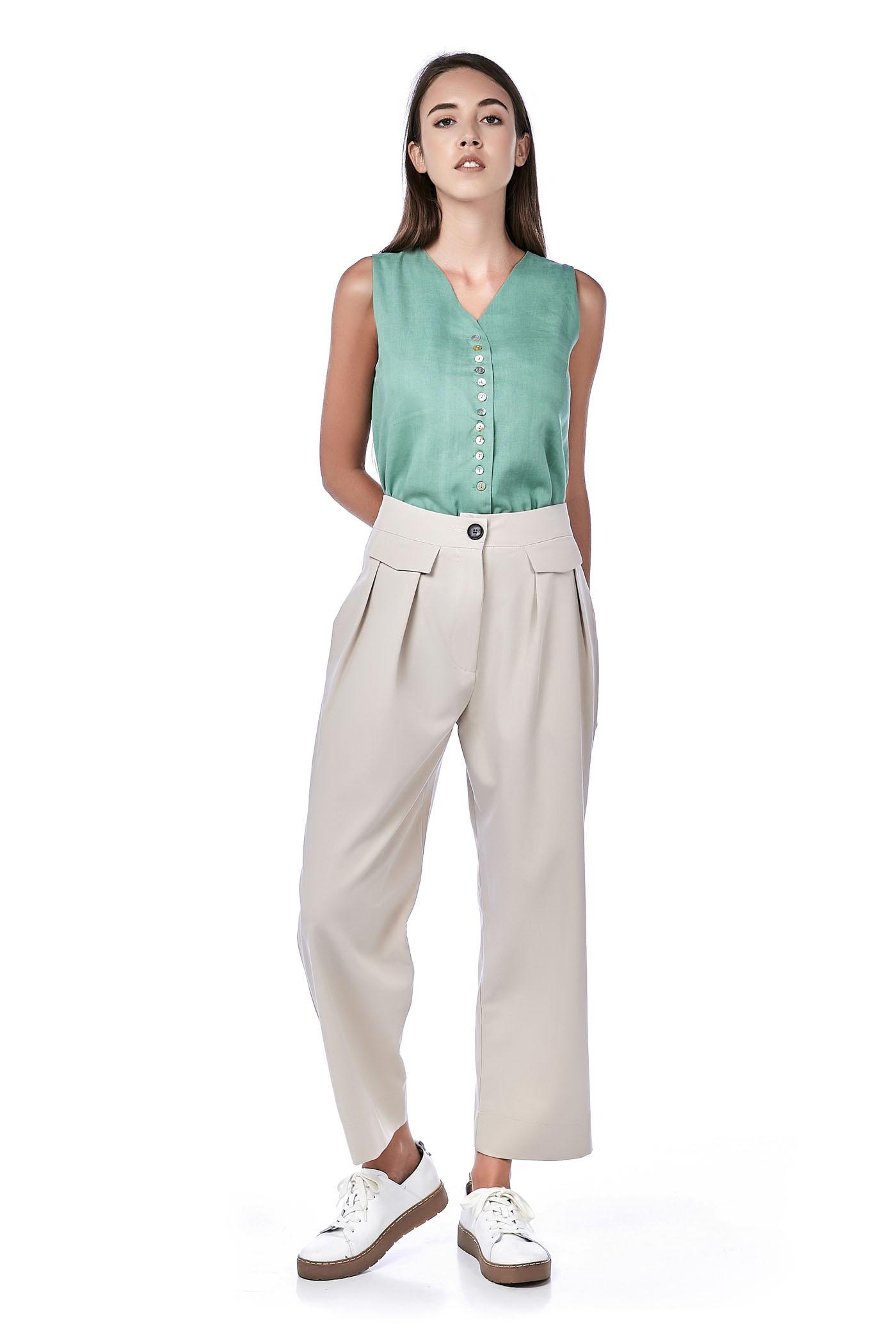 Ondrea High-Waisted Pants
