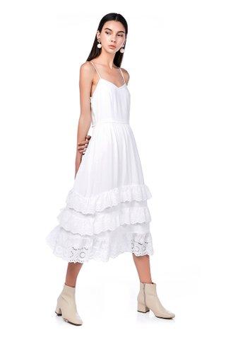 Brera Ruffle-Hem Maxi Dress