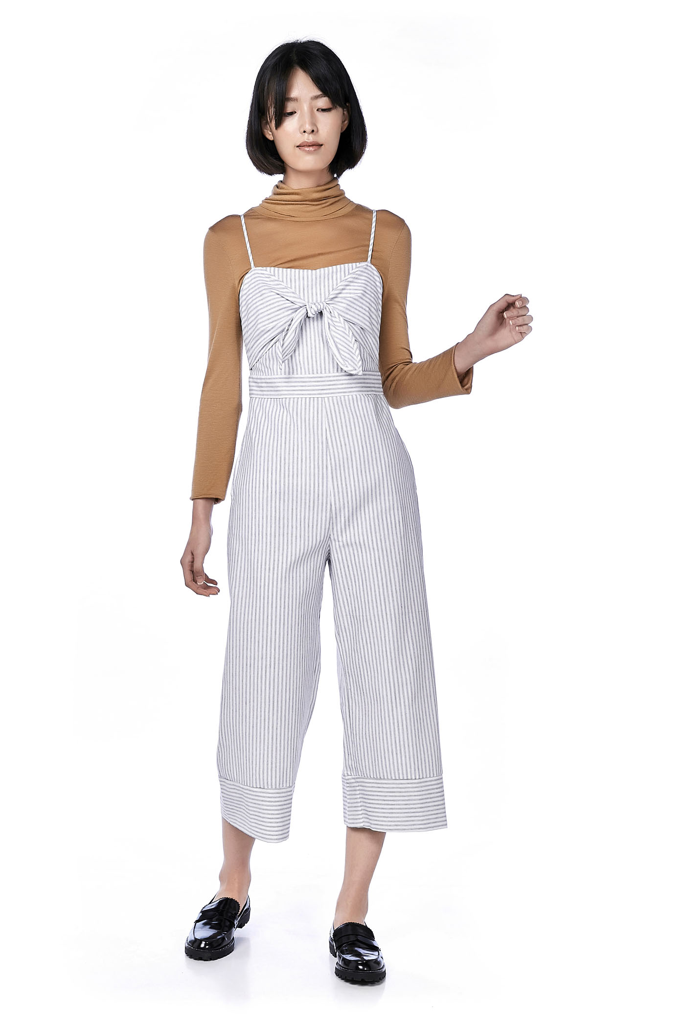 Yriana Front-Tie Jumpsuit
