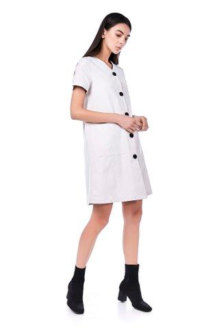Mayre Button-Through Dress