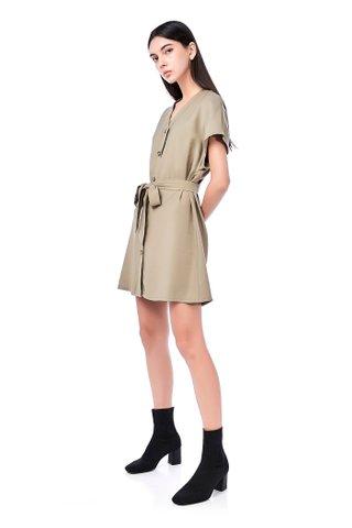 Hayli Button-Through Dress