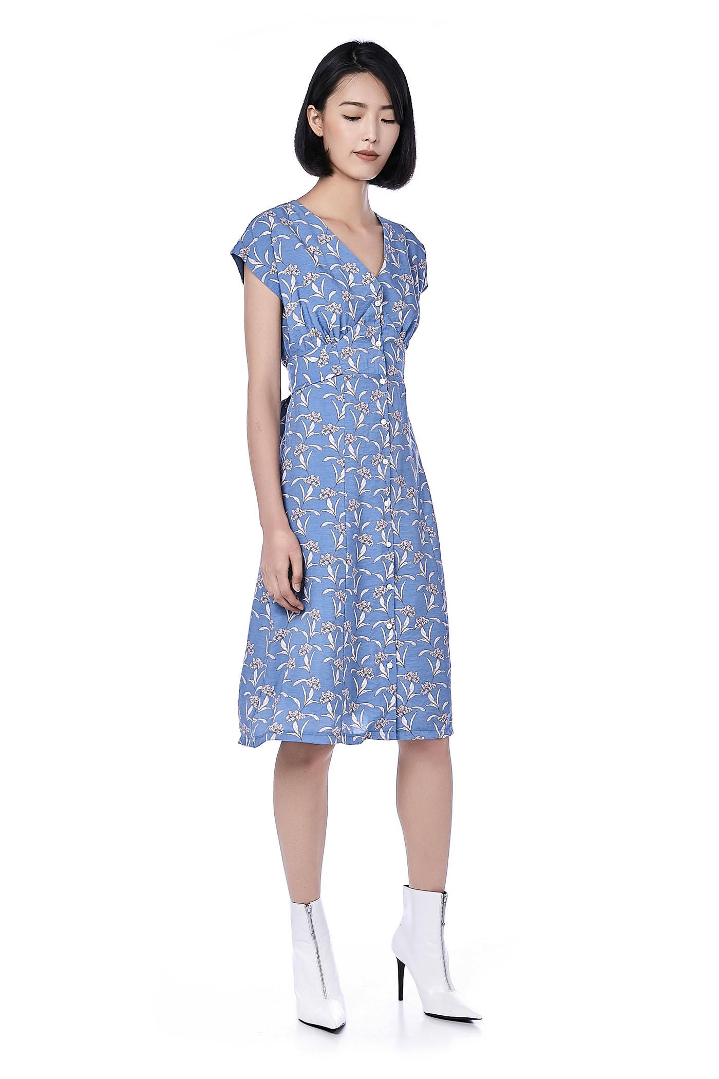 Haley Button-Through Dress