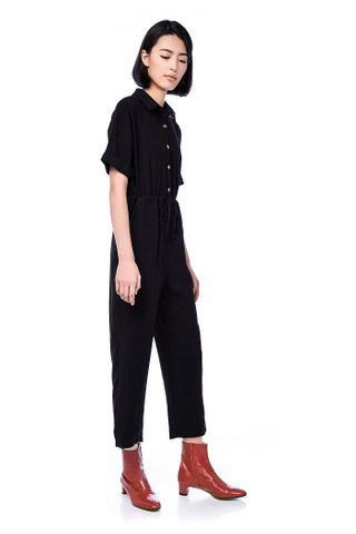 Lily Collared Jumpsuit