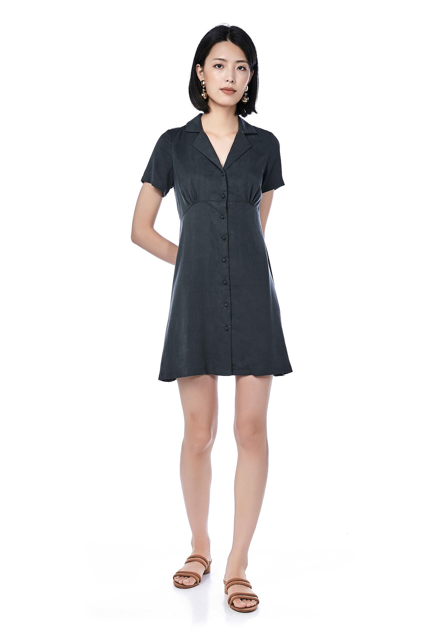 Barli Button-Through Dress