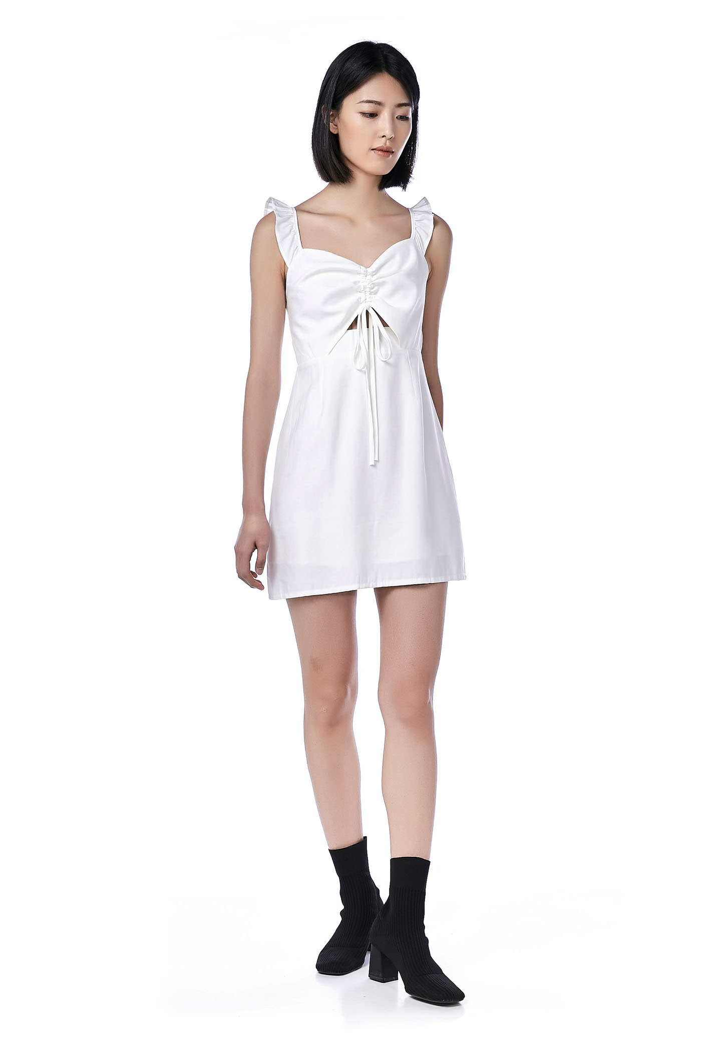 Adalynn Ruched-front Dress