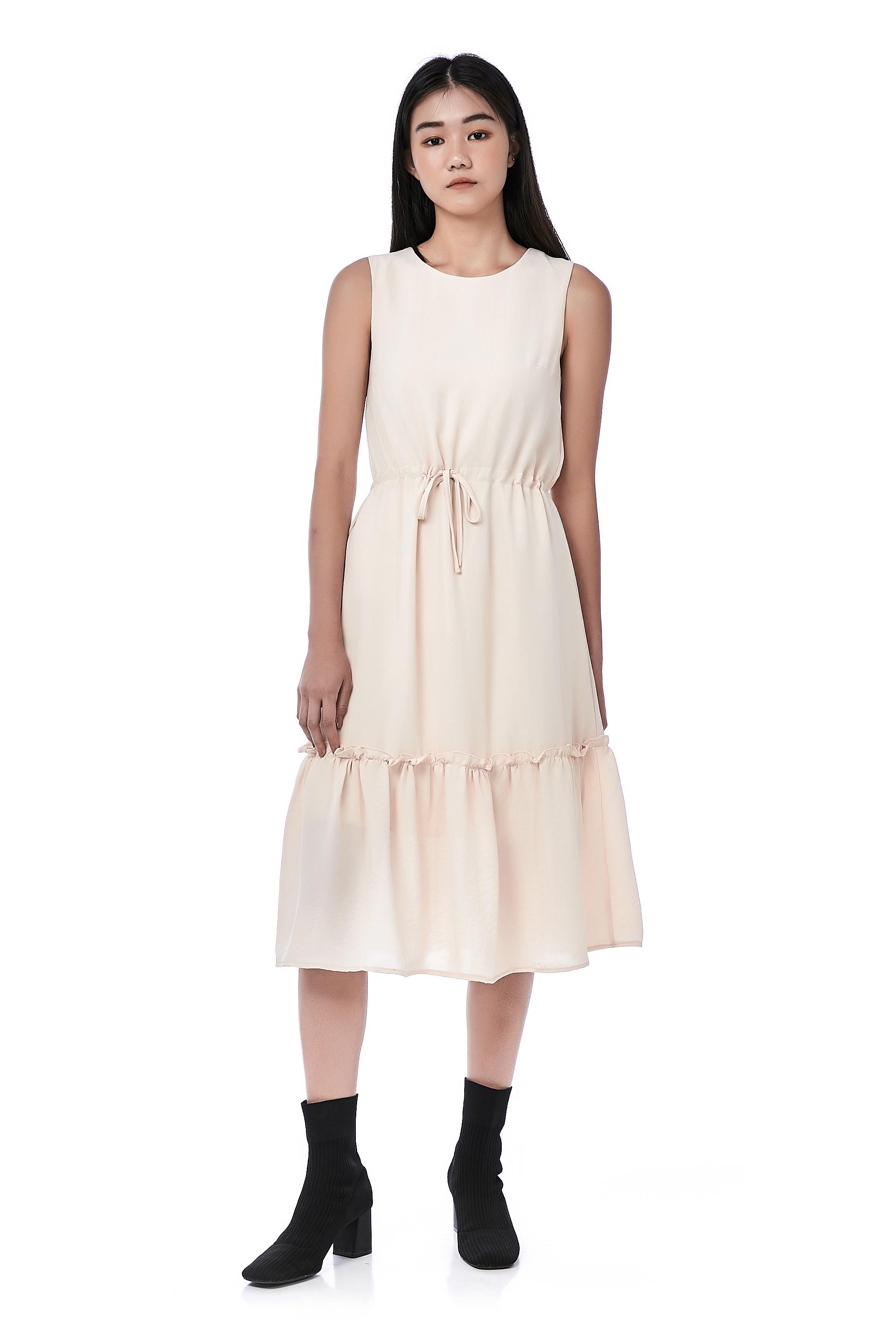 Rae Drawstring Dress