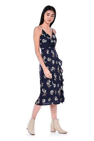 Willow Ruffle-Trim Dress