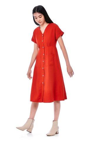 Coleina Button-Down Dress
