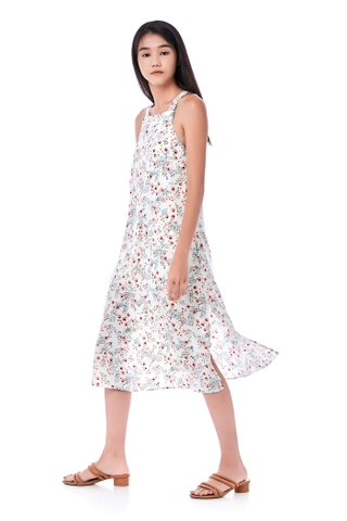 Ileena Bib Midi Dress