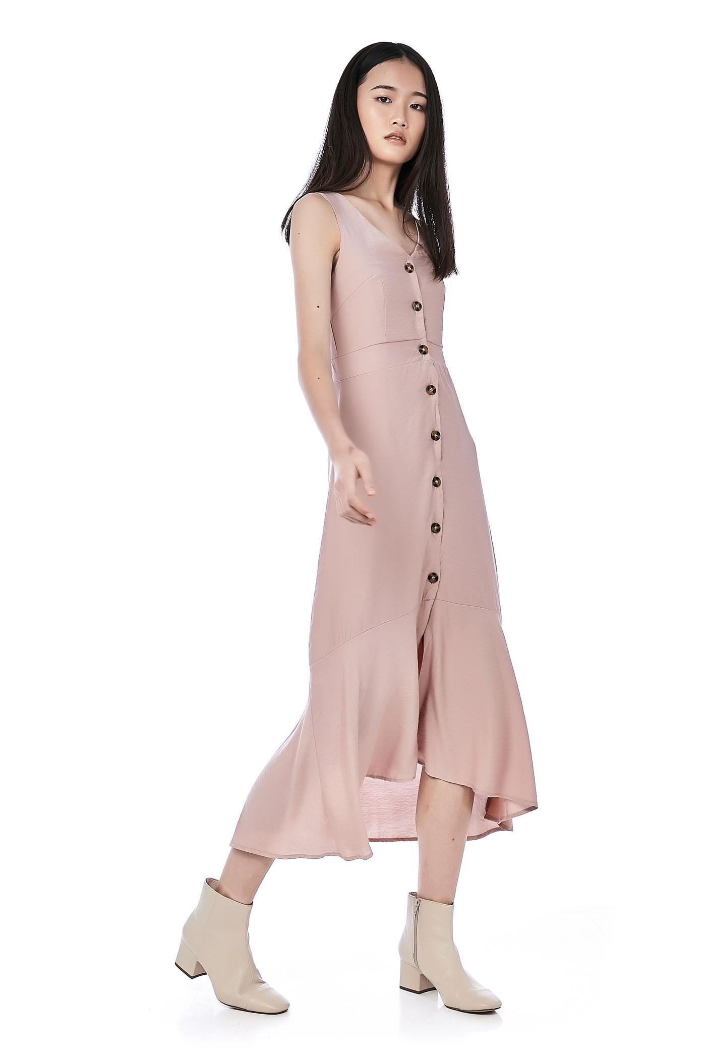 Lucha Button-Through Dress