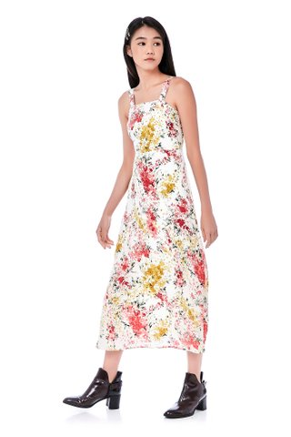Chelles Bib Maxi Dress