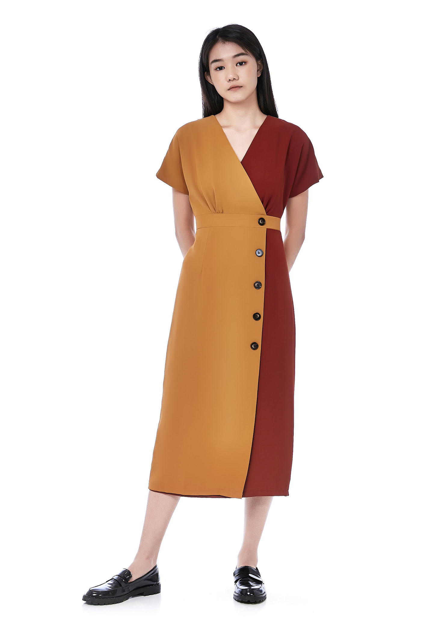 Pouly Overlap Dress