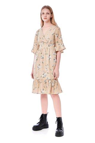 Killa Frill-Hem Dress