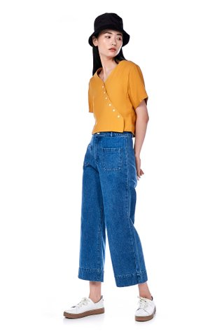 Lauv Front Patch Pocket Pants