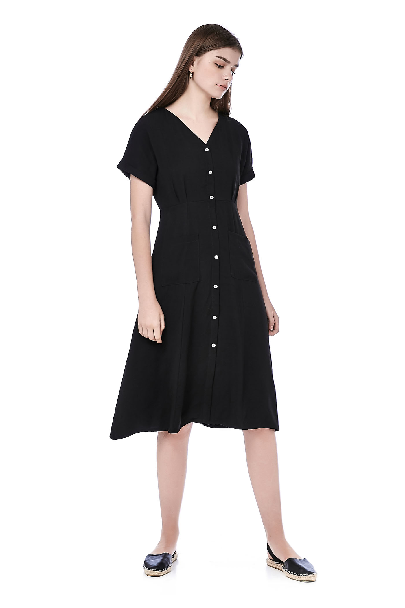 Coleina Button-Down Dress