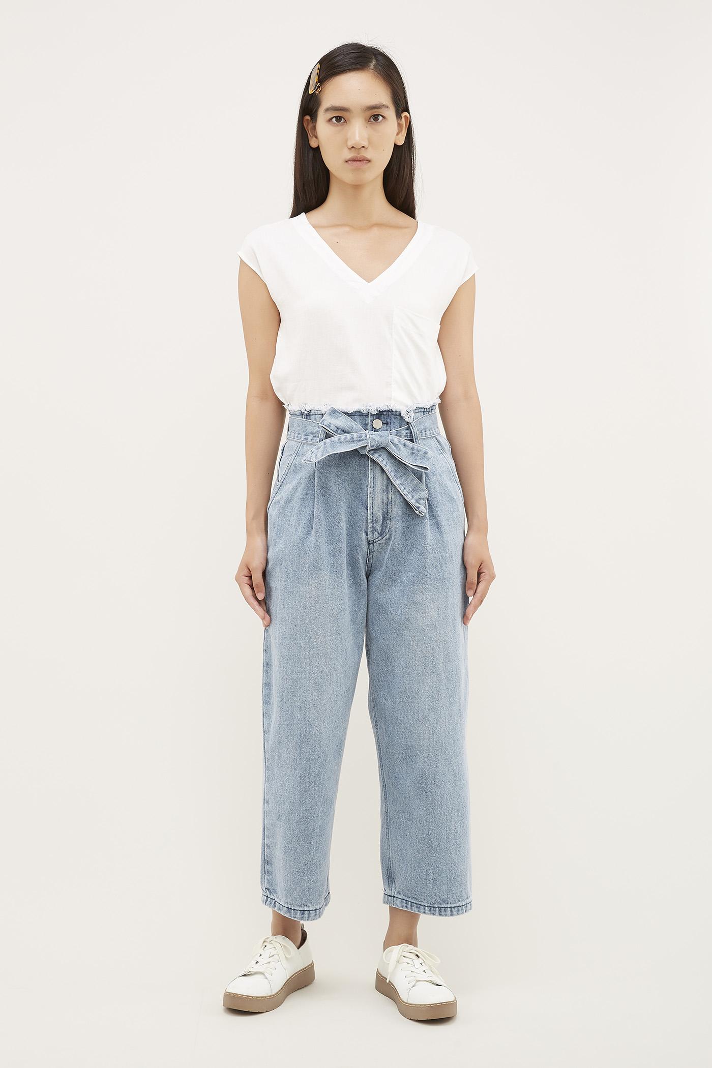 Guia Paperbag Jeans