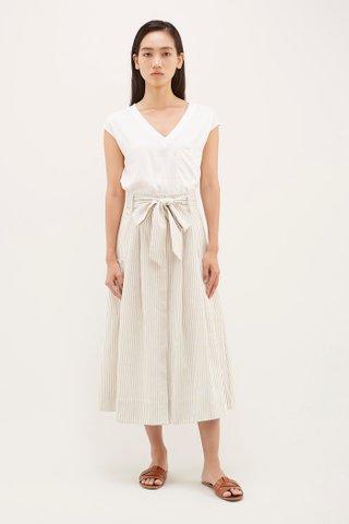 Rina Stripe Maxi Skirt