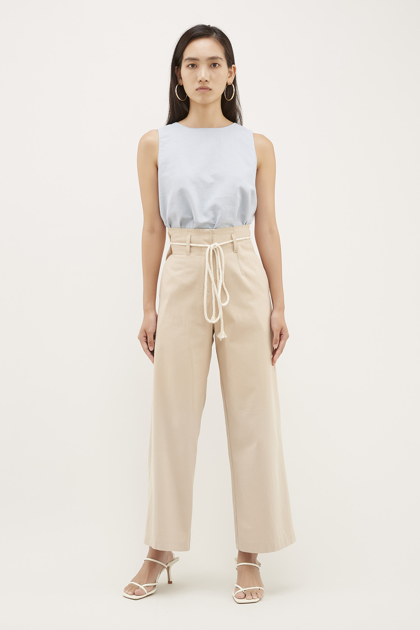 Kenyon Rope-tie Pants