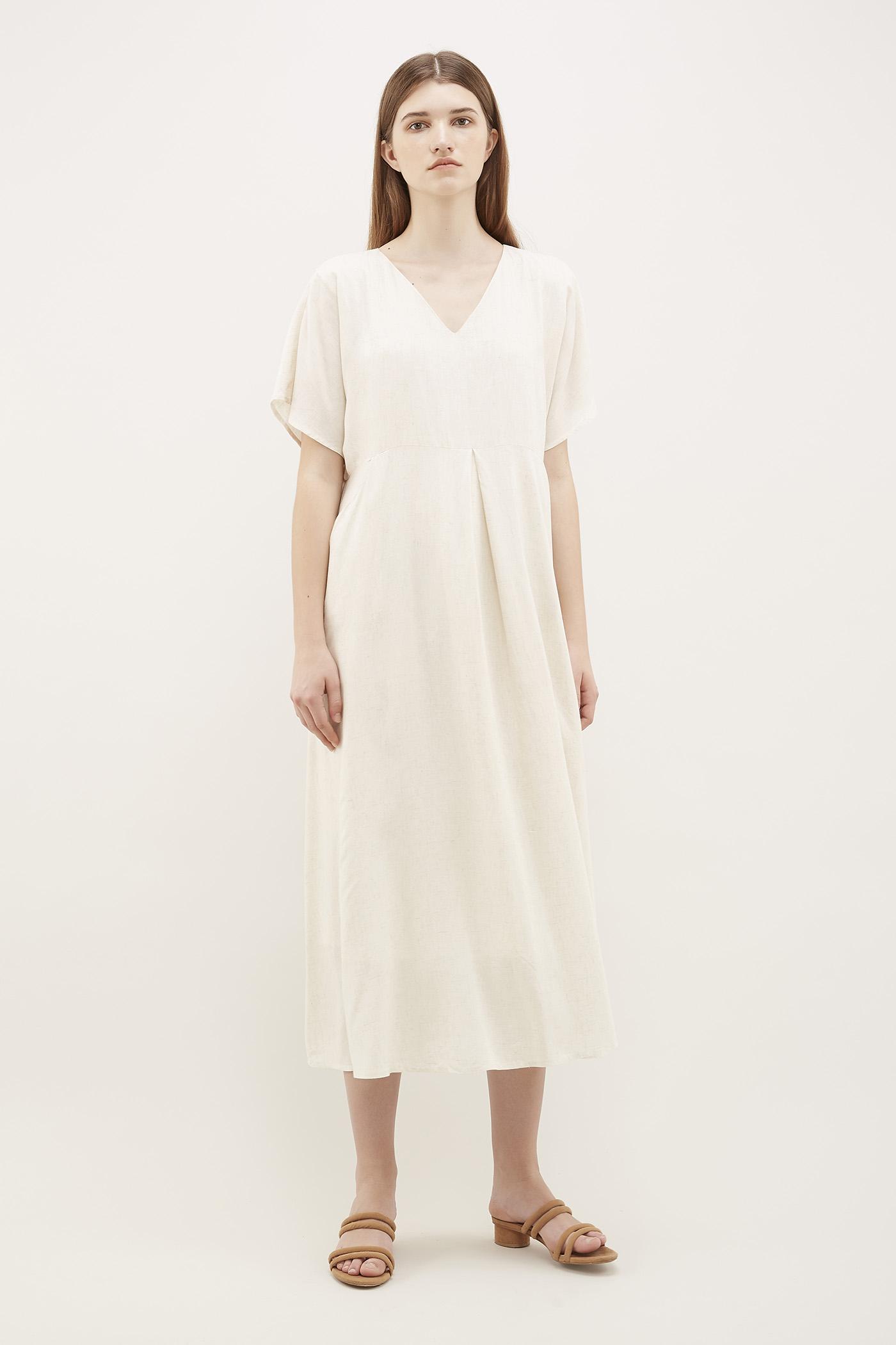 Shalena V-Neck Tent Dress