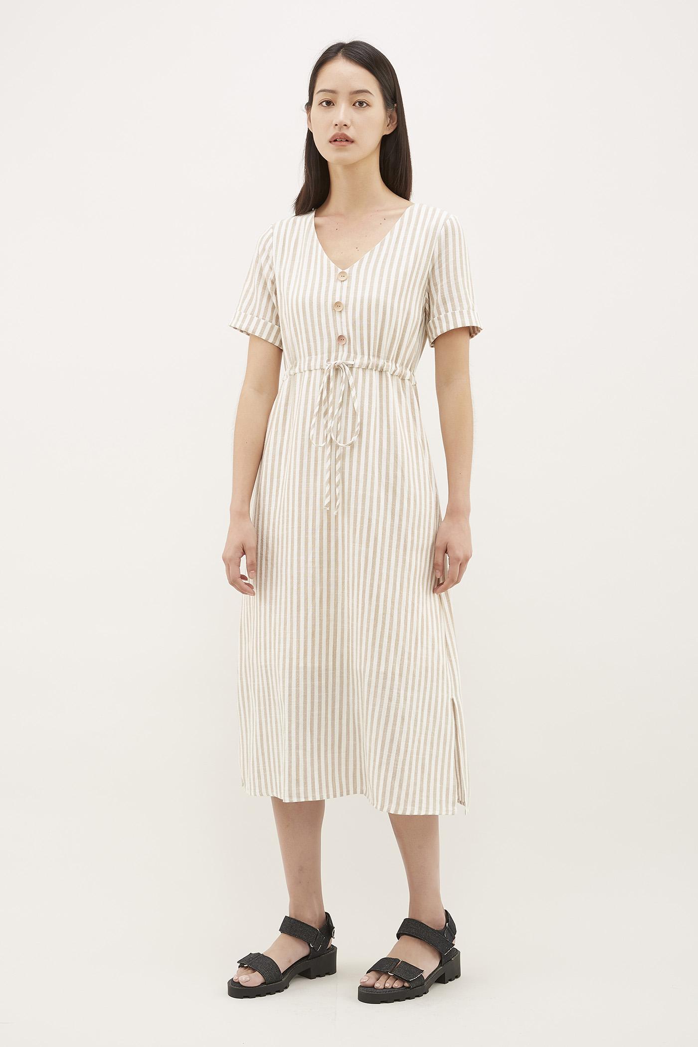 Airena Drawstring Dress