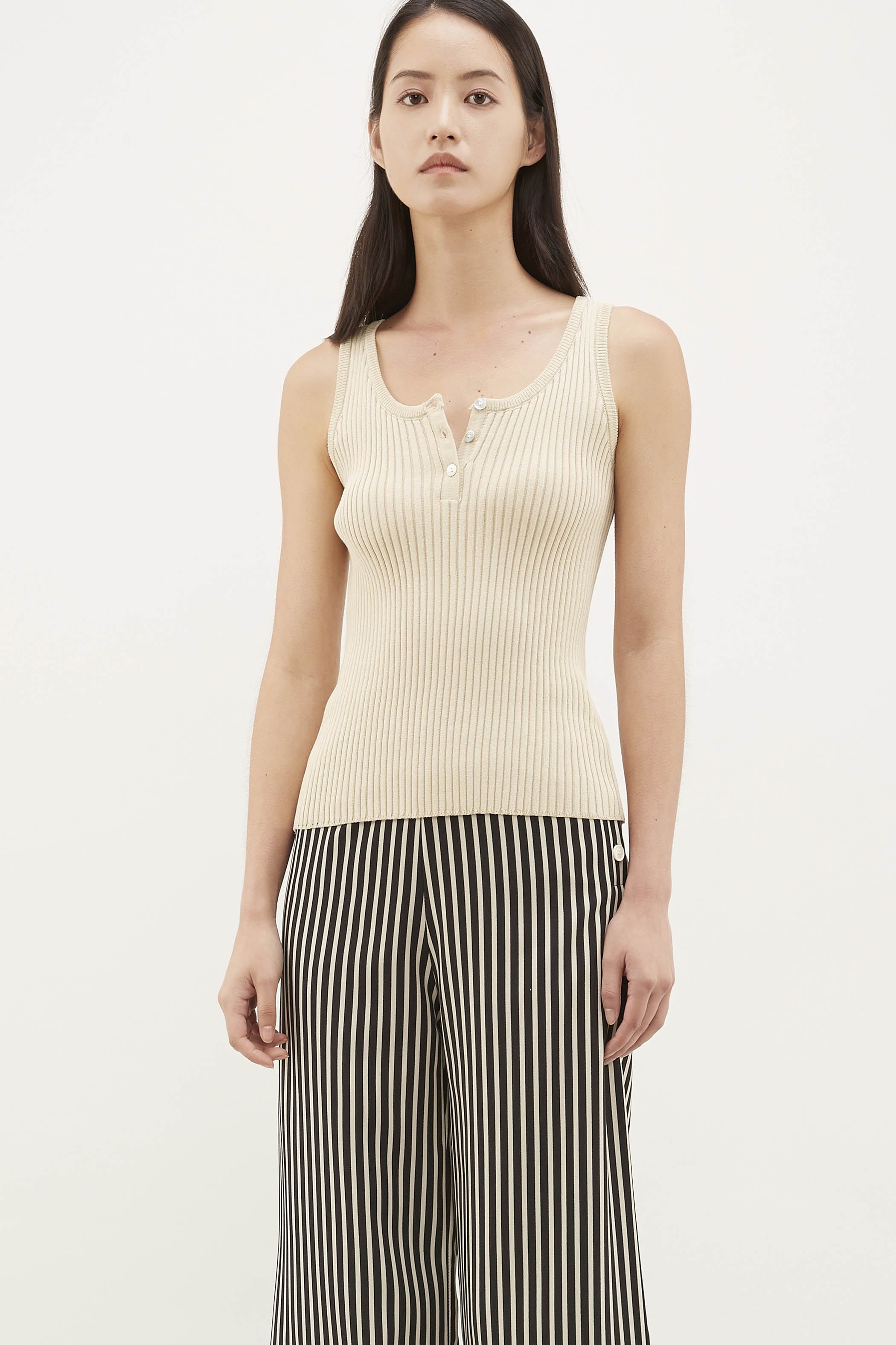 Ezri Ribbed Knit Top