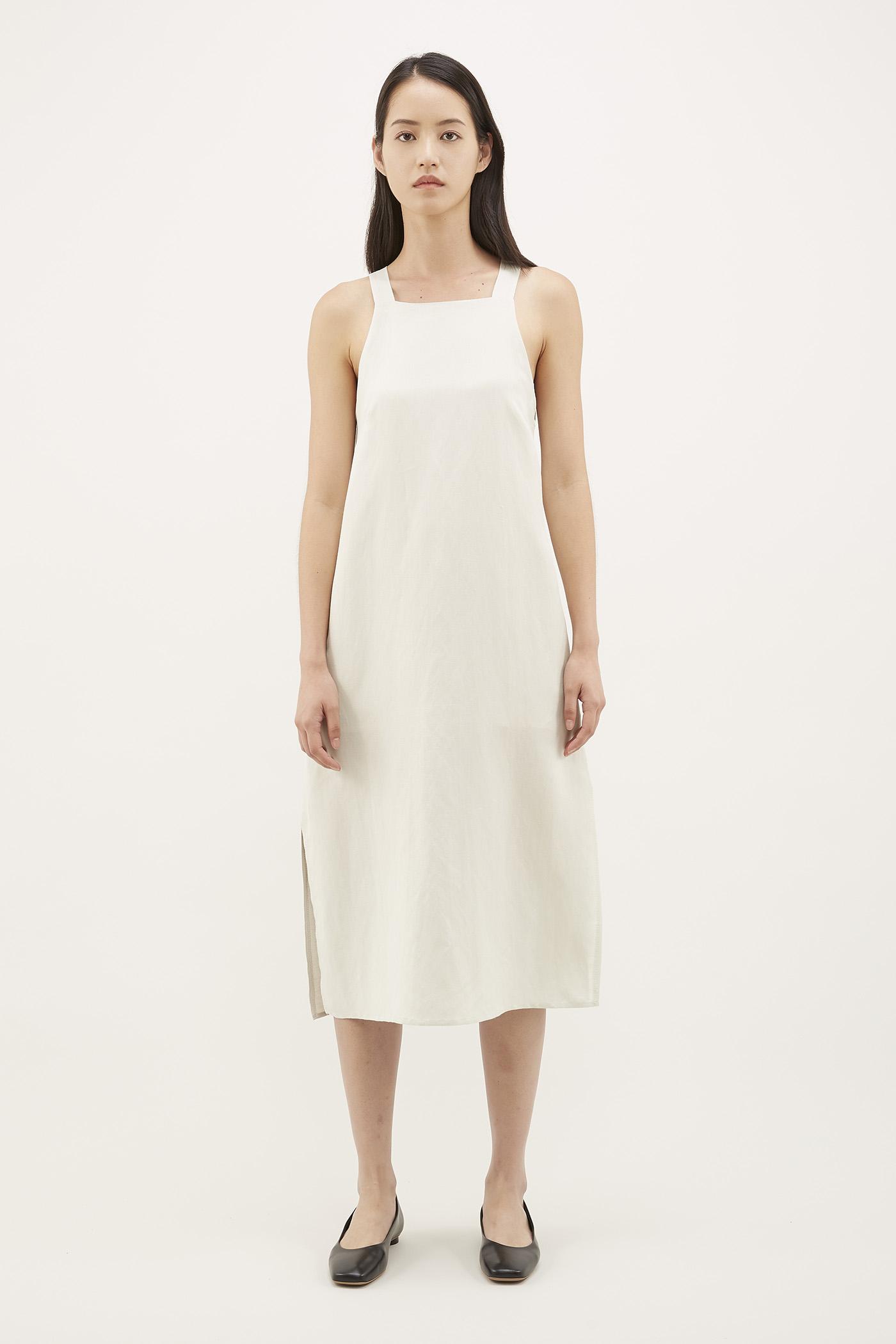 Dilisa Square-neck Dress