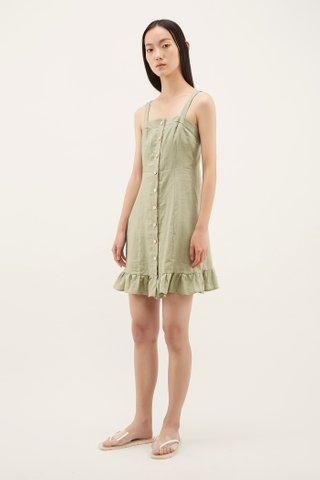 Ransley Frill-hem Dress