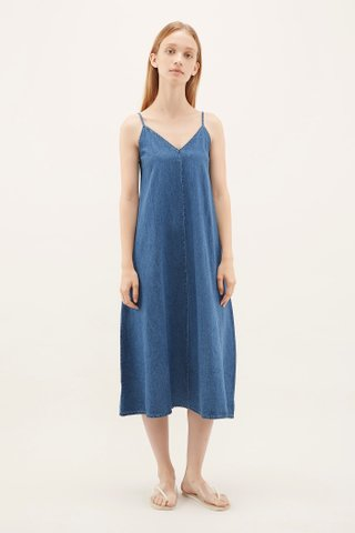 Esven Denim Tent Dress