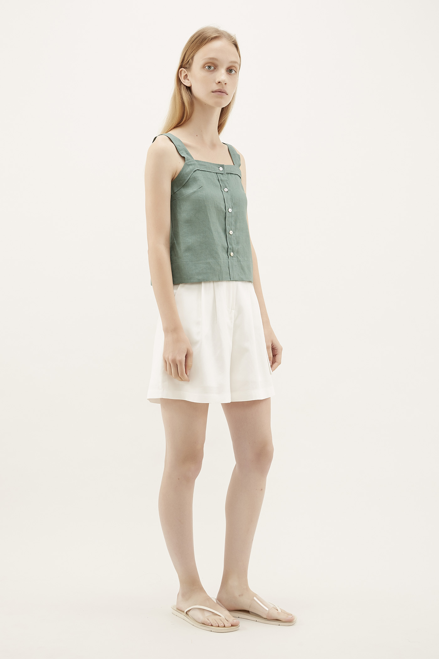 Alaia Belted Shorts