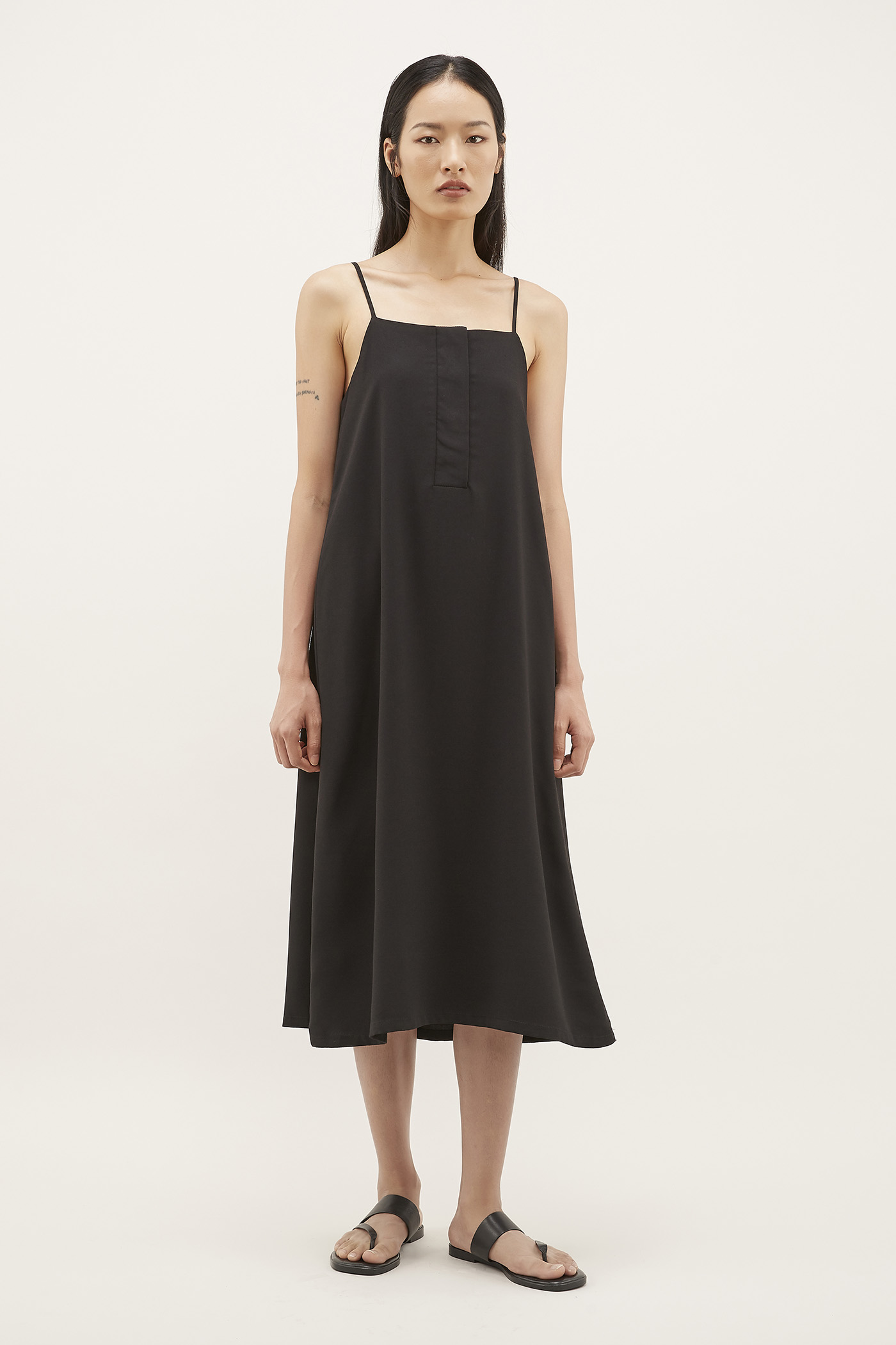 Aryeh Relaxed Midi Dress