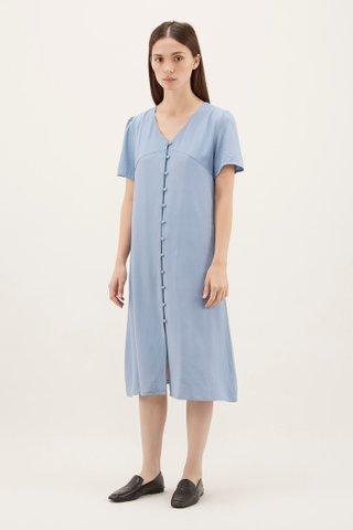Josue Button-through Dress