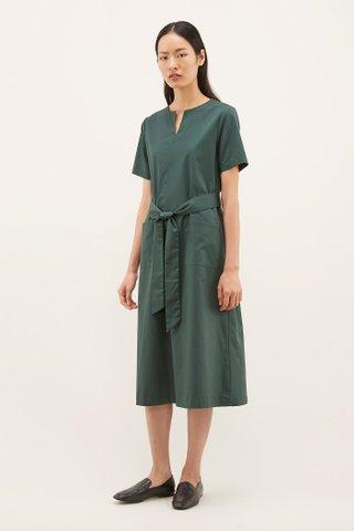 Lyzia Notch-neck Dress