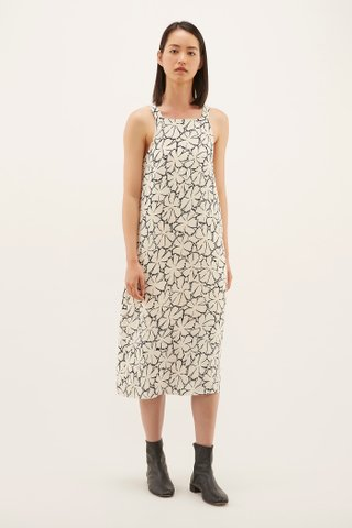Nelisa Square-neck Dress