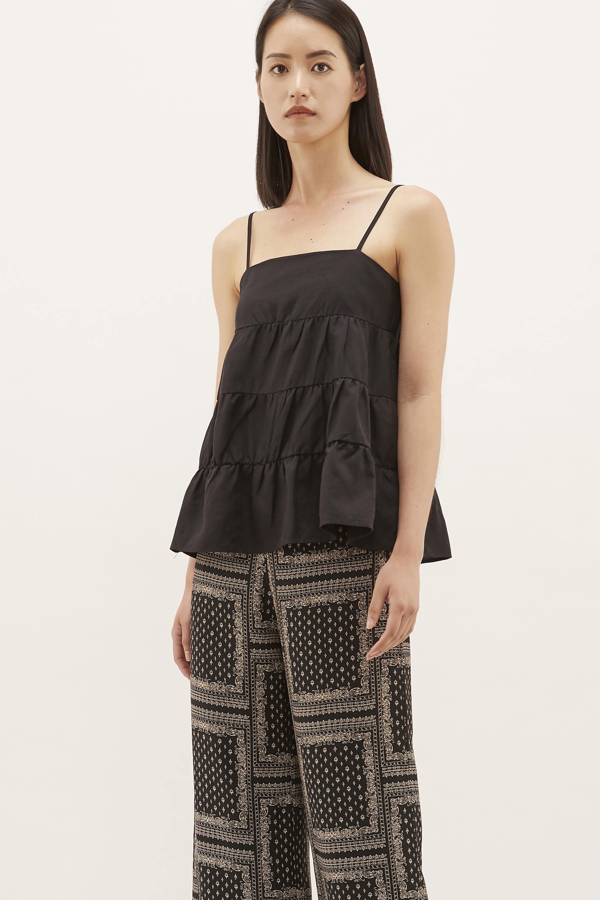 Loryn Tiered Top