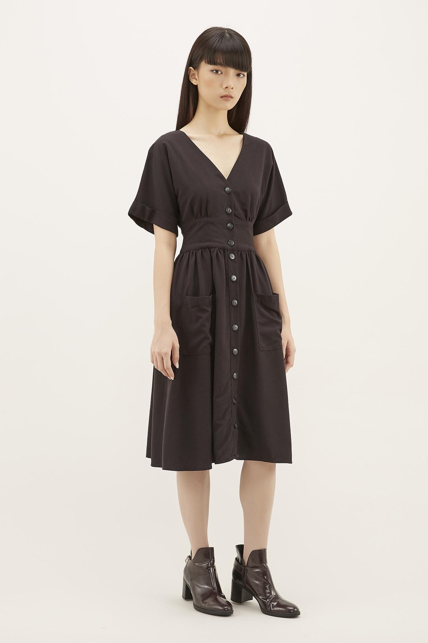 Nareen Patch-pocket Dress