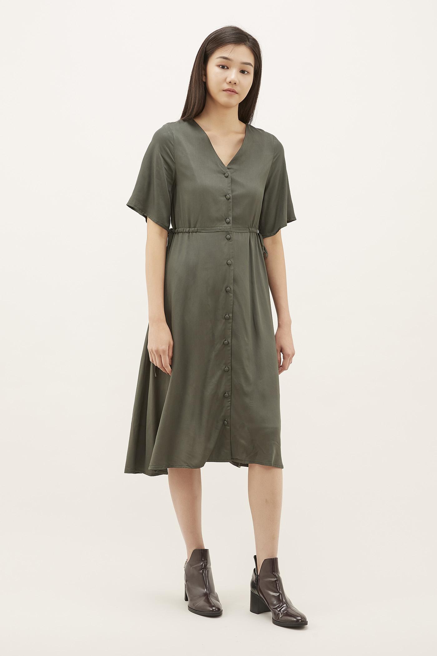 Mirena Drawstring Dress
