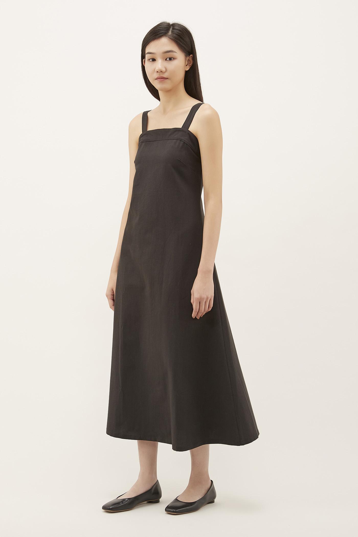 Kyleen Square-neck Maxi Dress