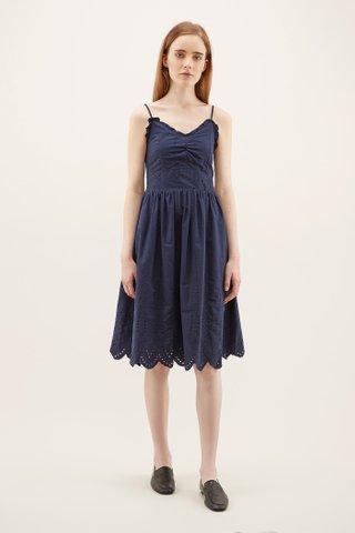 Myesha Broderie Midi Dress