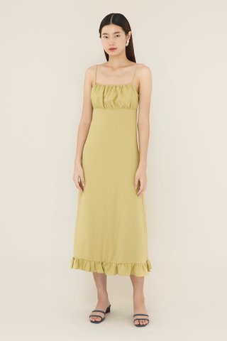 Jeanna Ruched-panel Dress