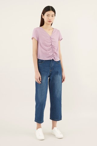 Vayl Ruched-front Blouse
