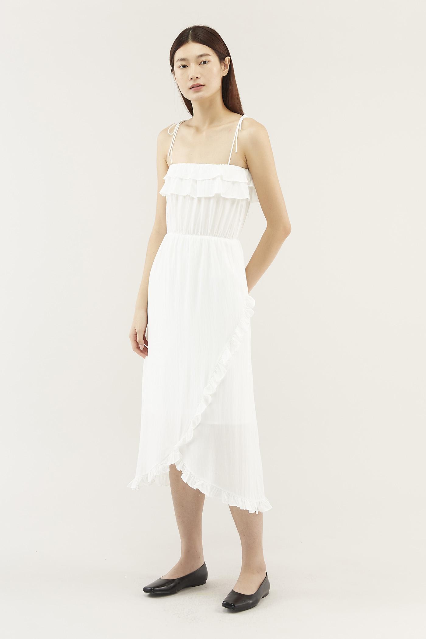 Rianne Frill-trim Dress