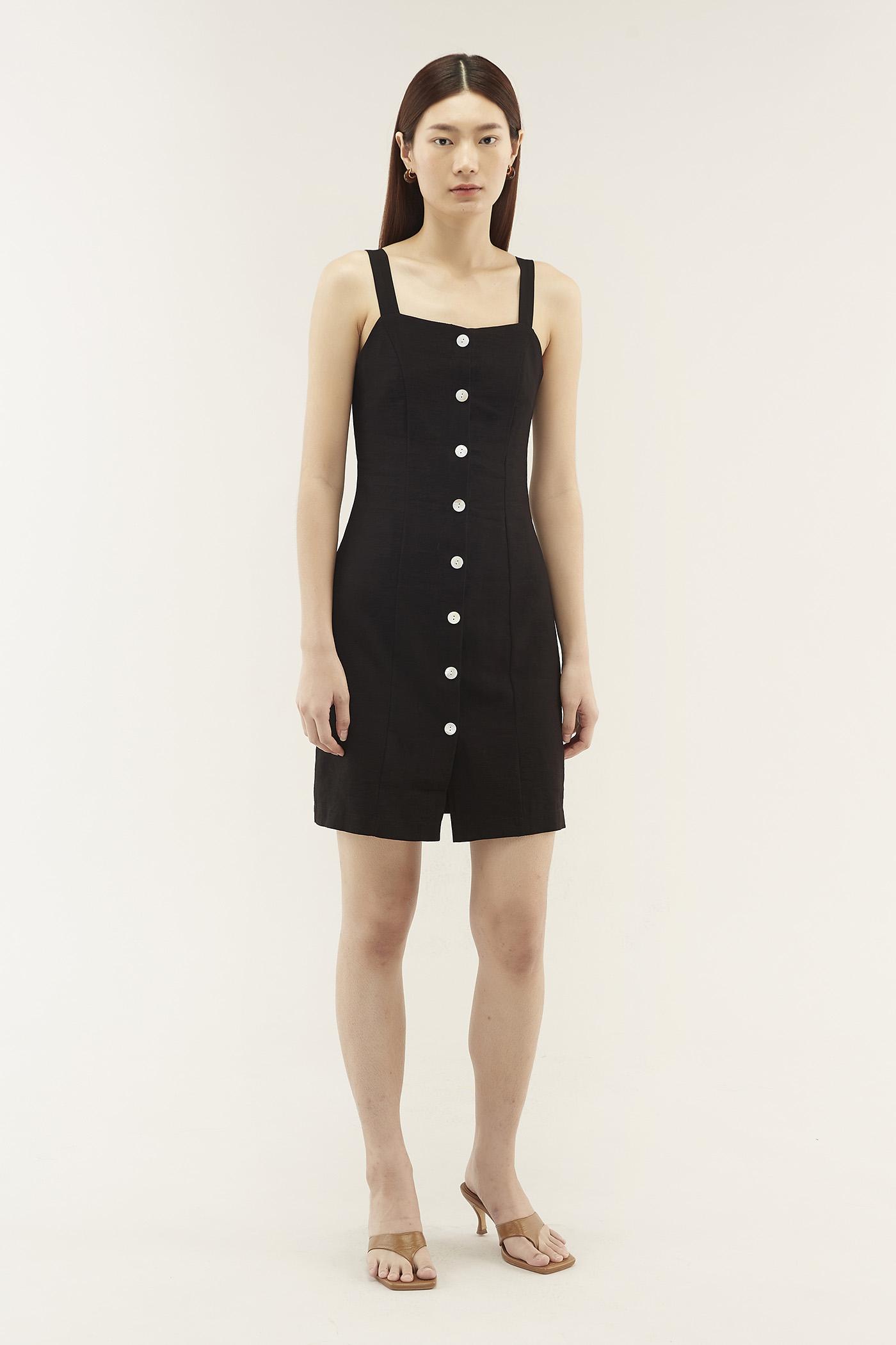 Dayven Button-through Dress