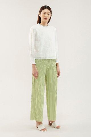 Florita Accordion-pleat Pants