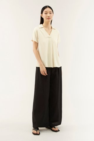 Verenice Collared Blouse